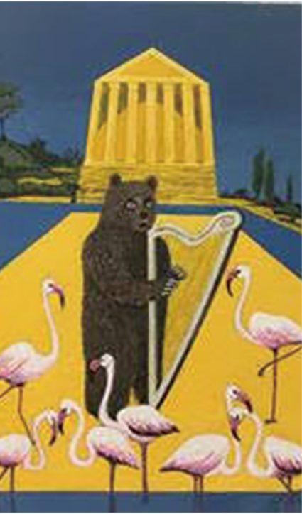 ユーモア込めて描く人生「Bill bill個展」ヌマートで9/19から【藤沢市鵠沼海岸】