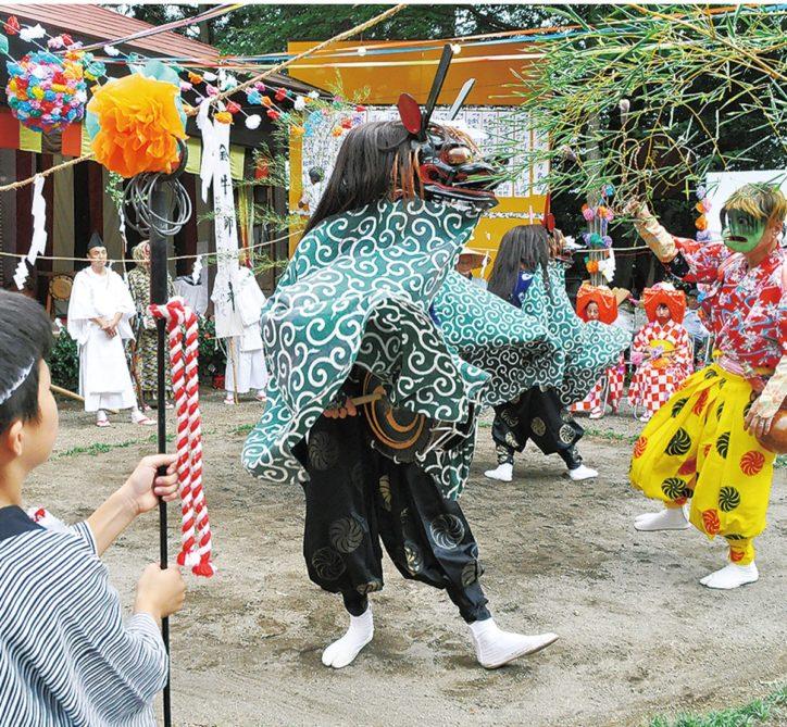 金井の獅子舞を奉納2020年度は「陰祭り」【町田市:金井八幡神社】