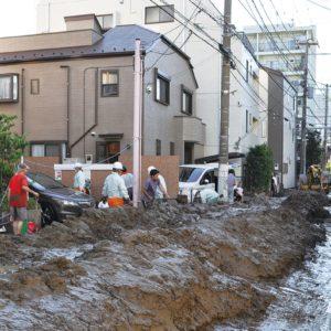 大雨・台風の季節到来「有事」に活躍する町内会