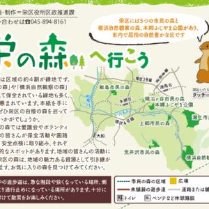 横浜市栄区内の市民の森・横浜自然観察の森・本郷ふじやま公園など全7か所を紹介