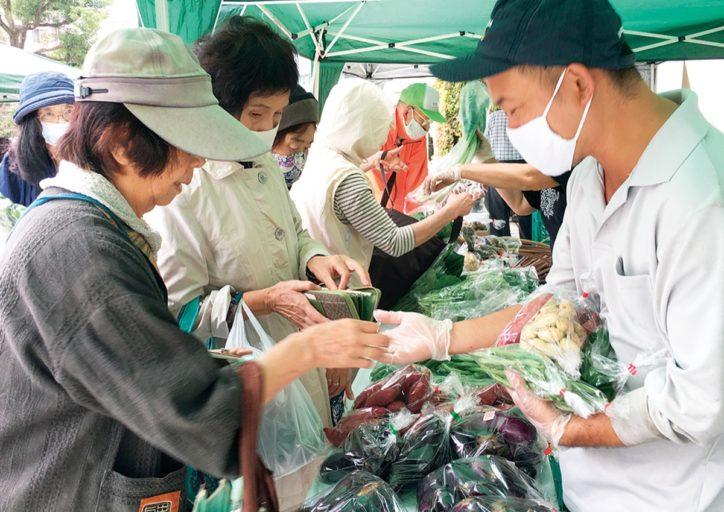 保土ヶ谷区内「朝市」各所で工夫凝らして 新鮮地場野菜など販売