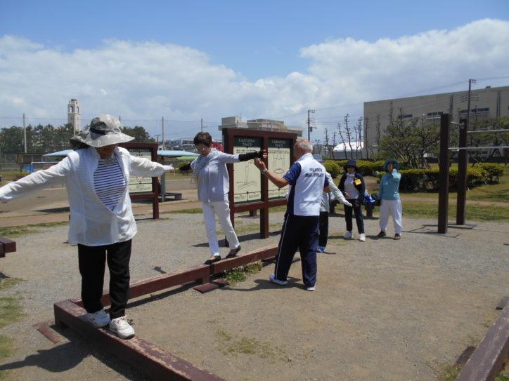 遊具活用した健康づくり「やさしいうんどう教室」毎月第3日曜日開催@辻堂海浜公園・湘南汐見台公園