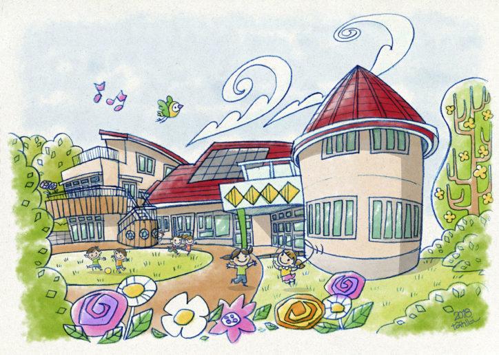 2020年4月開園のピッピことりこども園/新しいピカピカな園舎で働く【綾瀬市】