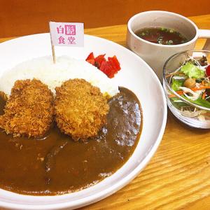 「シシメンチカレー」750円:白髭食堂/鶴巻温泉でジビエキャンペーン
