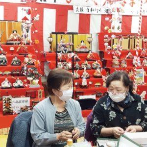 登戸台和町会 雛人形、ずらりと【2020年3月6日号】