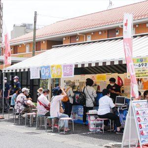 献血呼びかけに65人 菅町会 感染対策とともに【2020年6月19日号】