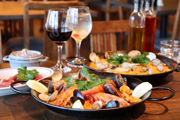 次回使えるドリンクサービスチケット配布:スペイン食堂 ビバラーチョ/はだのにぎわいランチフェスティバル