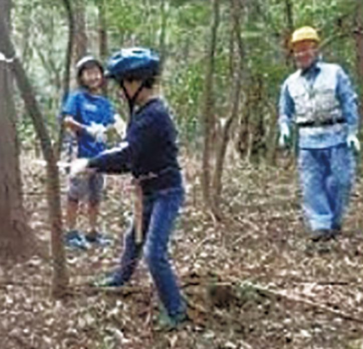 要事前申込「ふじさわ子ども森の探偵団」秋の森でのこぎり体験 11/14日に少年の森で