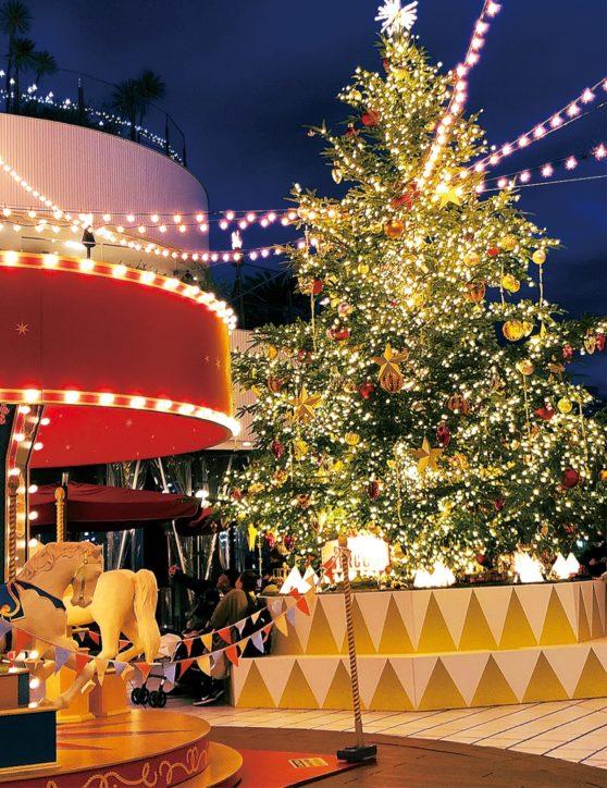 聖夜待ちわびて  横浜ベイクォーターで2020年イルミ点灯