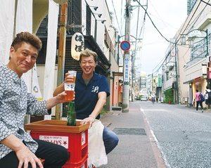 小田原・東通り商店街で常にやってます!「秋空ビアガーデン」