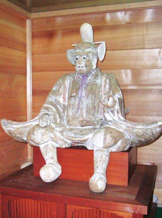 多摩市で「東京文化財ウィーク2020」小野神社「木造随身倚像」年に一度の特別公開