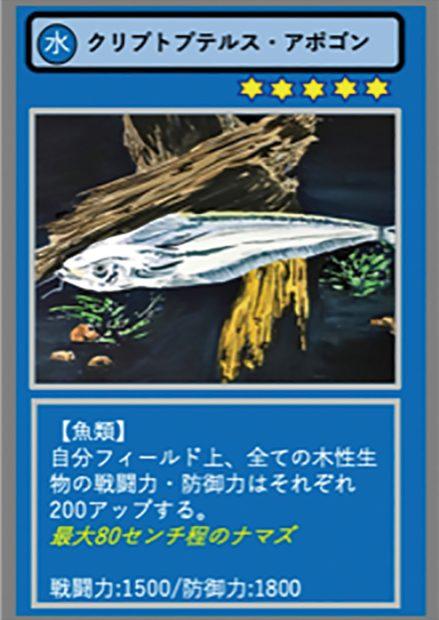 自作カードで「バトルしようぜ」 画家の矢野雅晴さんが考案の『約80種類のカード原画展』@鎌倉市