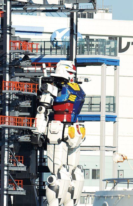 ガンダム内覧会に横浜市民招待 ペア500組に抽選で「GUNDAM FACTORY YOKOHAMA」