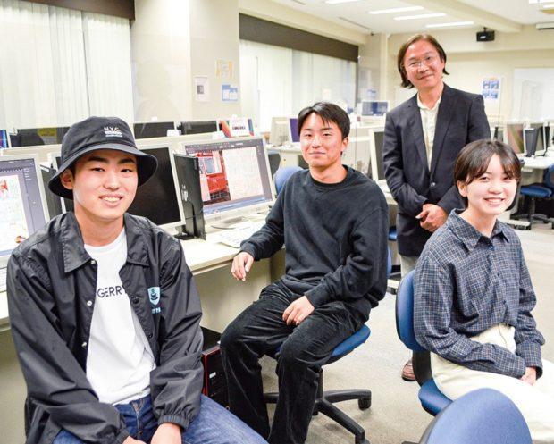 文教大学生と松籟庵がコラボしてSNSで茅ヶ崎の魅力を発信
