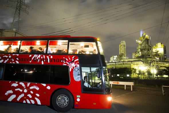 【運行中止 11月20日発表】横浜の景色と食事が楽しめる、オープンエアーのバスの旅『YOKOHAMA  Sea Breeze Dining』