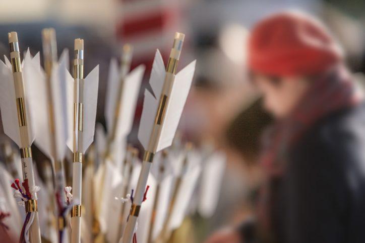 2020年12月21日より破魔矢・熊手等を頒布開始ー相模原市中央区:氷川神社