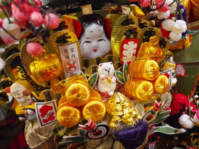 自宅で熊手飾り 申し込みは12月19日まで@ 弥生神社