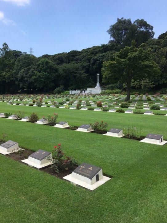 横浜クリスマスキャロリング於英連邦戦死者墓地