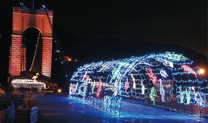 2020年も秦野戸川公園でイルミ  点灯式は12月12日午後4時