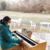 公園に街角ピアノ設置【八王子市:小山内裏公園】
