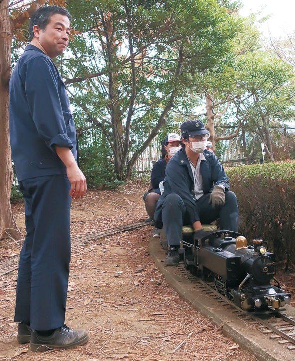 「走れ機関車 夢乗せて」 SL少年団がミニ列車運行@藤沢市鵠沼運動公園(通称・八部公園)