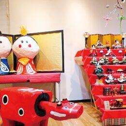 """ひな人形と""""映え""""写真!横須賀市・観音崎公園でひな祭りオブジェが展示"""