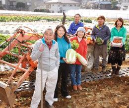 川崎市宮前区の「小泉農園」で農業体験農園!野菜作りをやってみよう!