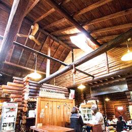 丸太小屋レストラン びんずる:柔らかくて旨みたっぷり! 絶品ポークをオシャレ空間で【宮ヶ瀬水の商店街】