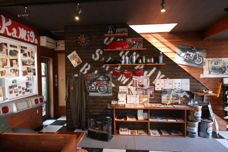 アメリカンな雰囲気が印象的な「大船住研・栄上郷営業所」