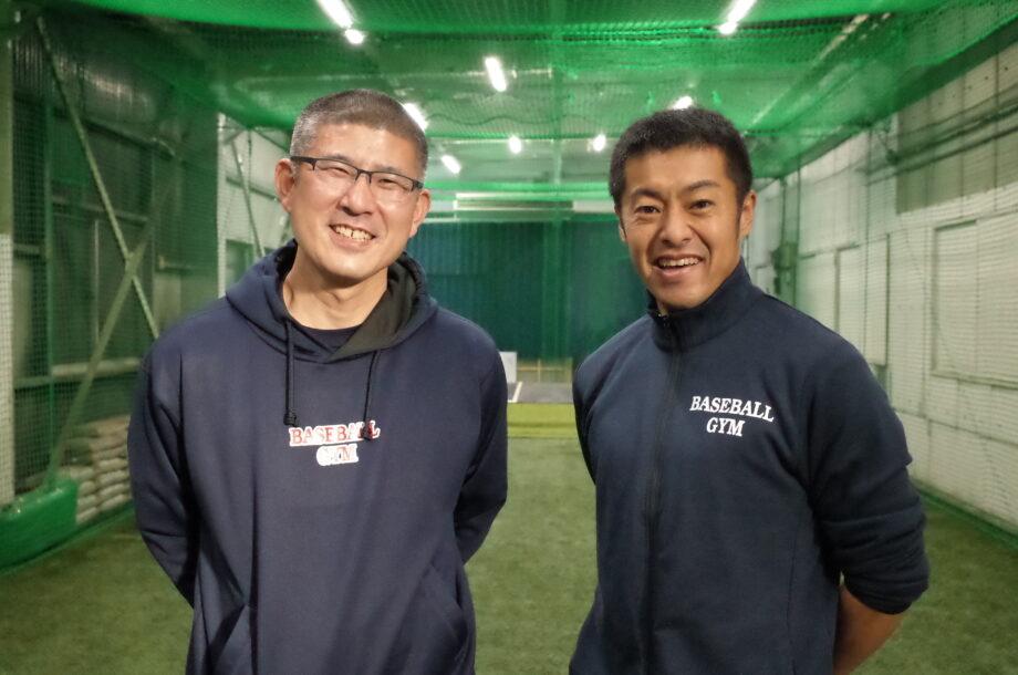 代表の櫻井肇さんとトレーナーの保田貴史さん