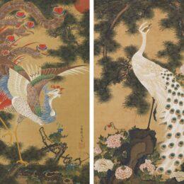 【箱根 岡田美術館】特別展「没後220年 画遊人・若冲―光琳・応挙・蕭白とともに―」