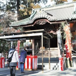 【秦野市】白笹稲荷神社 初午に多くの参拝者 2021年2月27日は「三の午祭」