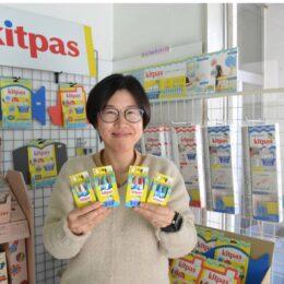 世界で売れてる「キットパス」おふろ用がより安心に!明日への活力に!お風呂時間を親子で楽しく!【日本理化学工業】