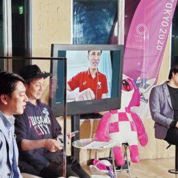 <ユーチューブで配信中>つるのさん辻岡アナ出演  Tokyo2020 100Days to Goオンラインイベント in 藤沢