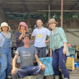 たったひとりで始めた農業。10年経ち、心強い仲間ができた。<わたしの茅ヶ崎暮らし>