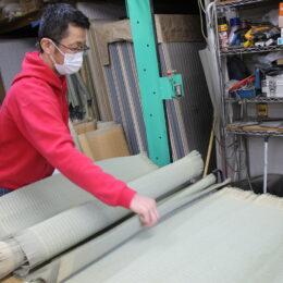 鶴見区で創業100年超の池谷畳店に潜入!畳の張り替え時期、魅力やデザインを職人に聞く