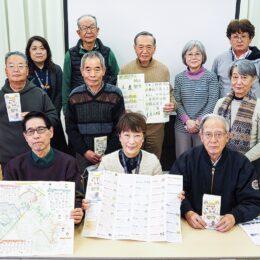 上鶴間の遺産や史跡を紹介する「お散歩マップ」完成 一般配布は4月1日から