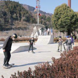 愛川に初スケボー施設「スケートパーク」設置 <田代運動公園トリム広場>