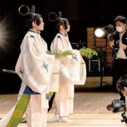 「リ・古典プロジェクト」伝統文化を次世代に 倭舞と巫子舞の動画公開(大山阿夫利神社)