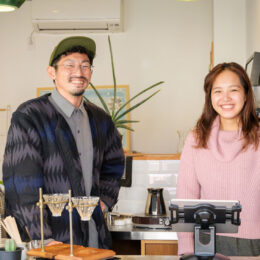 <ちがさき創業物語vol.5>FLOWER COFFEE/BREW BAR 平尾 智一さん