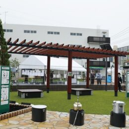 <川崎市高津区>「まえだTEQ(前田道路ショースペース)」の敷地の一部を一般開放「まえだパーク」