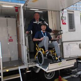 警備会社が作った野外で使える「トイレカー」福祉の現場でも大活躍!海老名市の優成サービス八木正志会長にお話しを伺いました