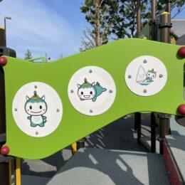 藤沢・秋葉台公園に「みんなで遊べる」新遊具が出現!