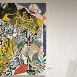 厚木市森の里在住の木版画家、田中里奈さんの作品展【5月5日まで】@アミューあつぎ