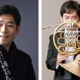 横須賀市三浦教育会館で「N響主席奏者が奏でるクラリネット&ホルンデュオリサイタル」4月18日