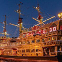 【箱根芦ノ湖・海賊船】「Sunset  Cruise(サンセット・クルーズ)」運航開始!船上で楽しむ夕暮れ!6月26日まで土曜日運航