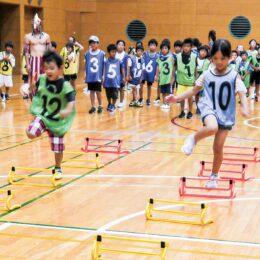 <小学生対象>アスリートが短距離のレベルアップ法を伝授!@カルッツかわさき