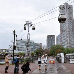 【動画付】みなとみらいのロープウエー「YOKOHAMA  AIR  CABIN」が4月22日より運行開始 <桜木町駅と新港ふ頭を5分>