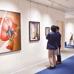 だまし絵として知られている「トロンプルイユ」 本牧絵画館で展覧会