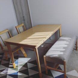 職人が仕上げる【椅子とテーブルの修理工房】町田市鶴川・川崎市麻生区「アトリエJIN」家具を再生させてお部屋を明るく!